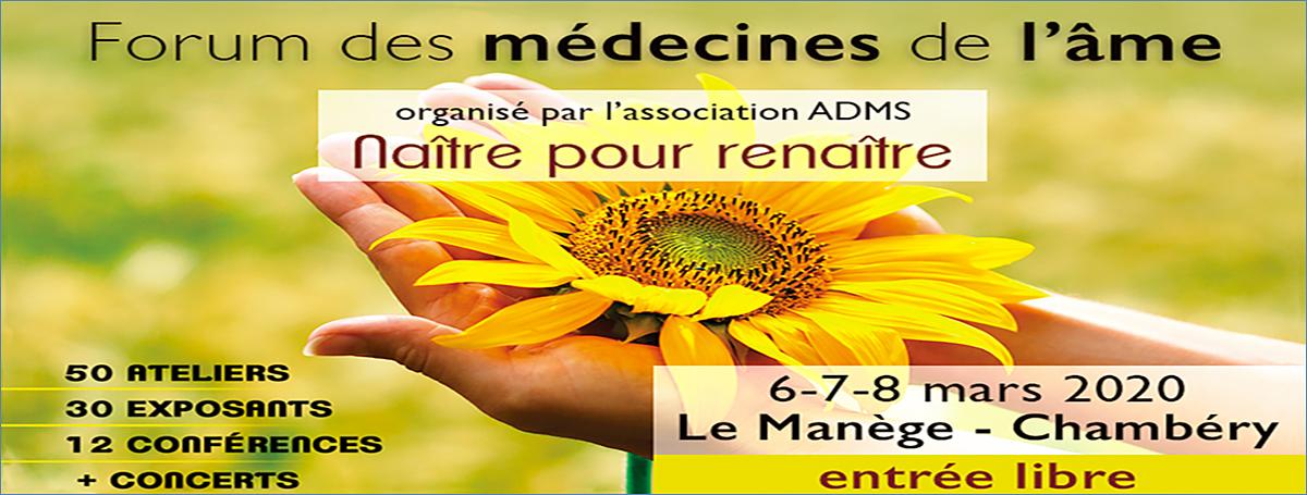 Le Forum des Médecines de l'Âme